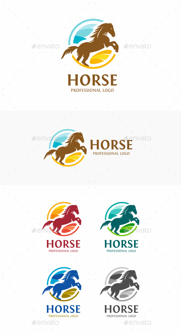 GraphicRiver Horse 20680167