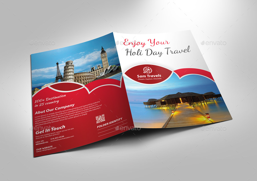 Travel presentation folder by twin arts graphicriver travel presentation folder toneelgroepblik Image collections