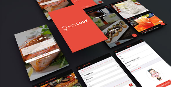 CodeCanyon let's COOK 20561751