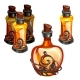 Magic Bottle with Antidote, Manna or Potion