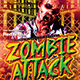 Zombie Attack Flyer
