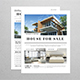 Simple Newspaper Real Estate Flyer - GraphicRiver Item for Sale