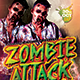 Zombie Attack Flyer - GraphicRiver Item for Sale