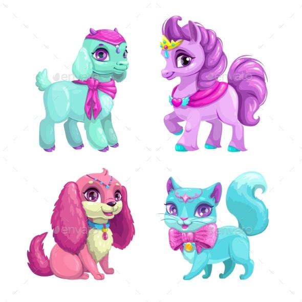 GraphicRiver Pets Icons Set 20680742