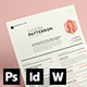 CV / Resume & Cover Letter - GraphicRiver Item for Sale