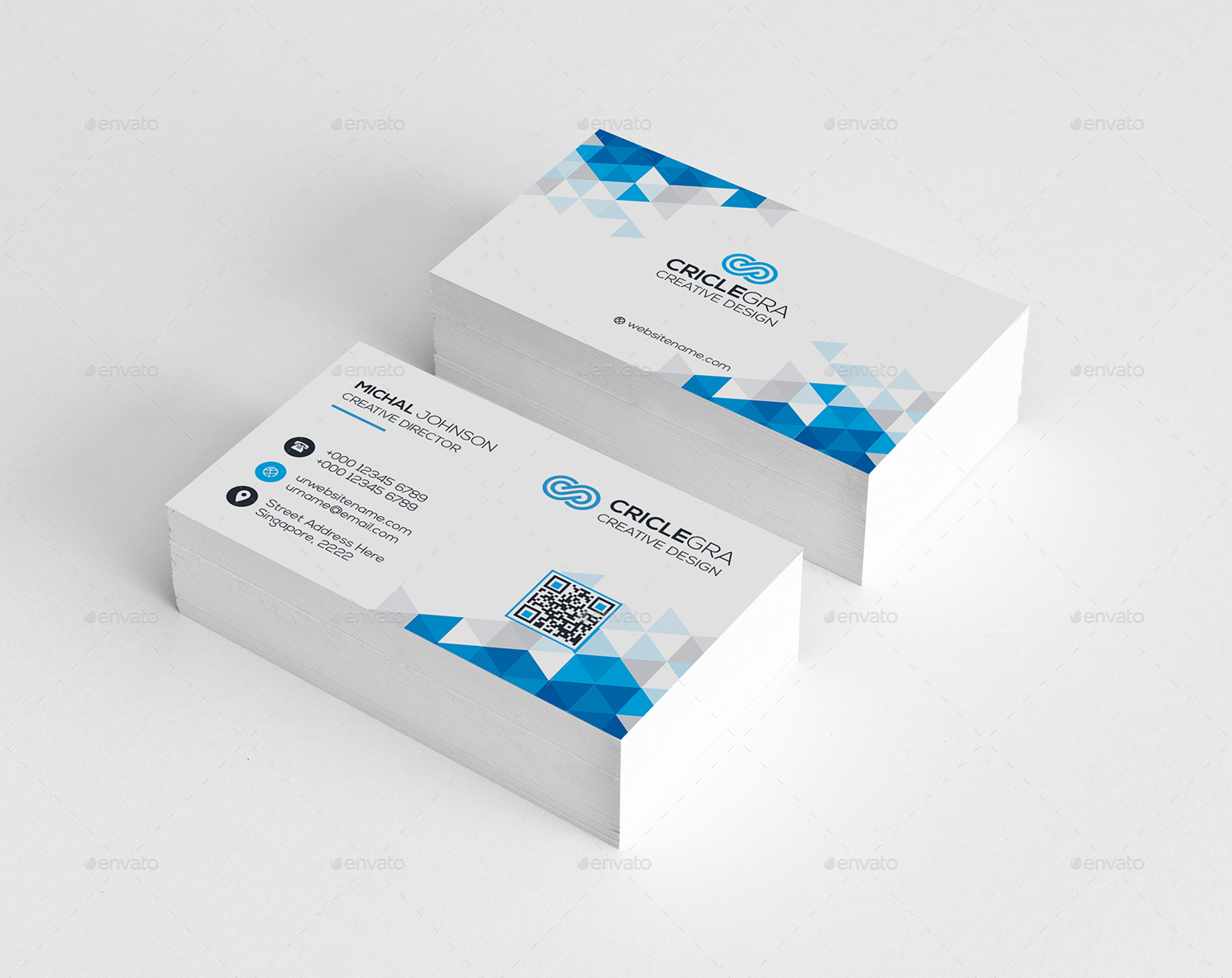 Corporate Business Card by generousart   GraphicRiver