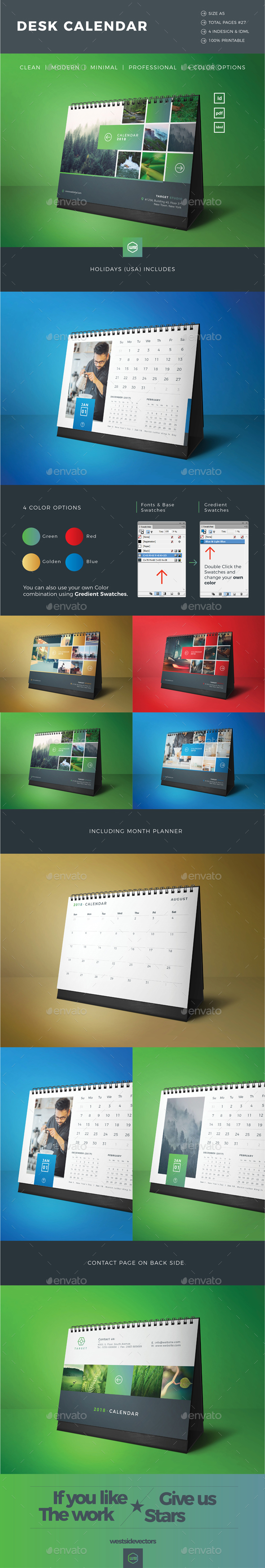 GraphicRiver Calendar 20662309