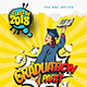 Graduation Flyer - GraphicRiver Item for Sale
