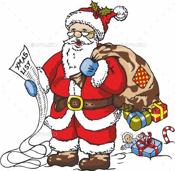 GraphicRiver Santa Claus 20680966