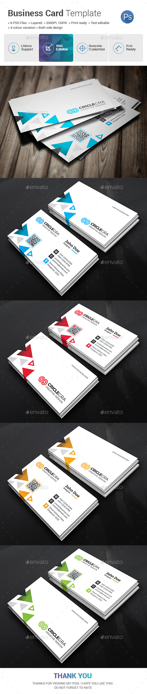 GraphicRiver Business Card 20680979