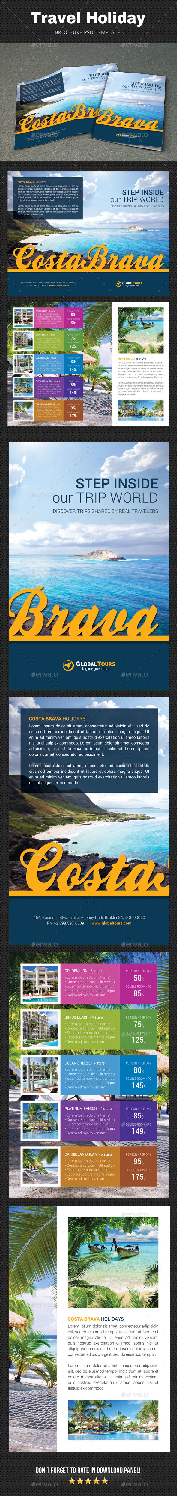 GraphicRiver Travel Brochure 2 20681010