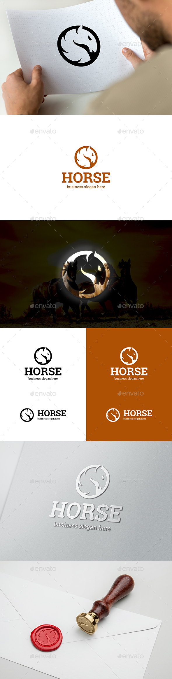 GraphicRiver Horse 20677081
