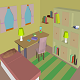 Low poly Room pack 02 - childrens room