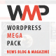 WP Mega Pack for News, Blog and Magazine - All you need - CodeCanyon Item for Sale