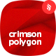 Crimson Polygon Backgrounds - GraphicRiver Item for Sale