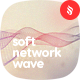 Soft Flow of Network Wave Backgrounds
