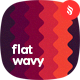 Flat Wavy Backgrounds