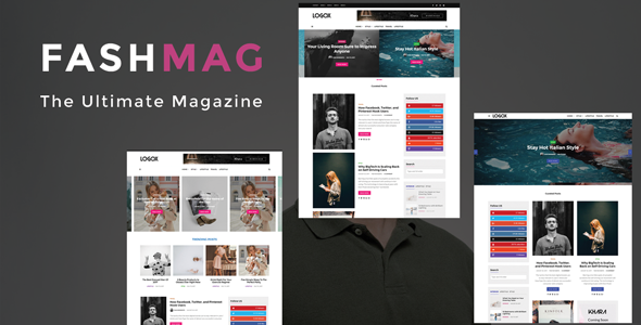 Fashmag - Lifestyle Blog & Magazine WordPress Theme - News / Editorial Blog / Magazine