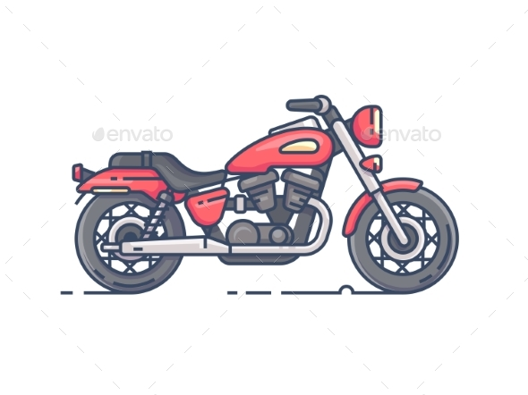 GraphicRiver Biker Motorcycle 20681562