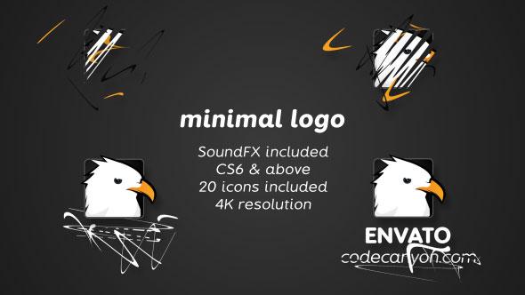 Minimal drawing logo