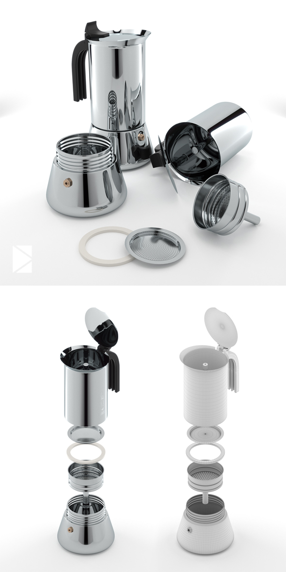 Bialetti Venus - 3DOcean Item for Sale