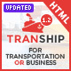 Tranship - Shipping / Logistics / Transportation / Responsive HTML Template - ThemeForest Item for Sale