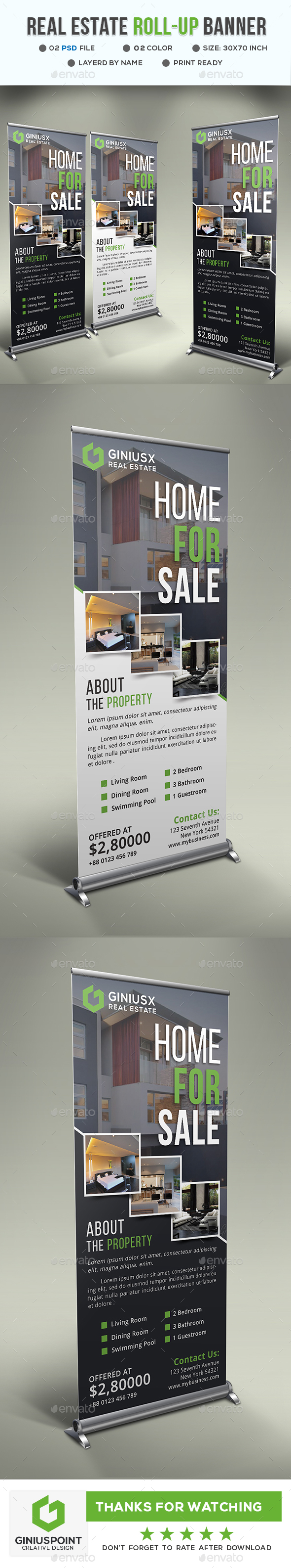 GraphicRiver Real Estate Roll-Up 20668595