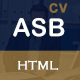 ASB CV / Resume / Portfolio - ThemeForest Item for Sale