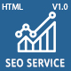 SeoService - Seo & Digital Marketing Company HTML5 Template - ThemeForest Item for Sale