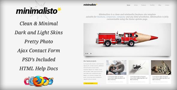 Minimalisto Html Template Free Download