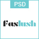 Faslush - A Modern & Minimalistic eCommerce PSD Template - ThemeForest Item for Sale