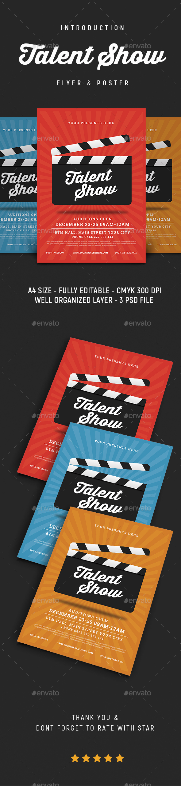 talent show flyer events flyers