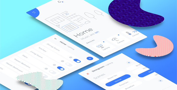 ThemeForest Automatic Home Mobile App 20682093