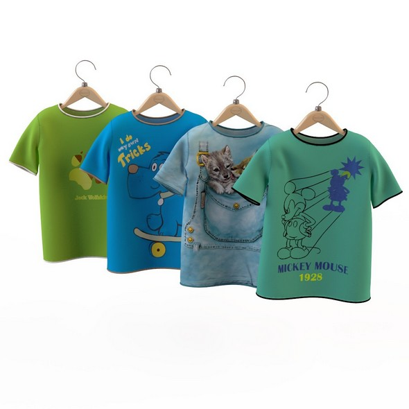 T-shirt for a boy - 3DOcean Item for Sale