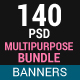 Multi Purpose Banner Bundle - GraphicRiver Item for Sale