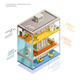 Cleaning Infographic Isometric Layout - GraphicRiver Item for Sale