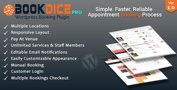 Download Source code              Appointment Booking and Scheduling for WordPress - BookDice            nulled nulled version