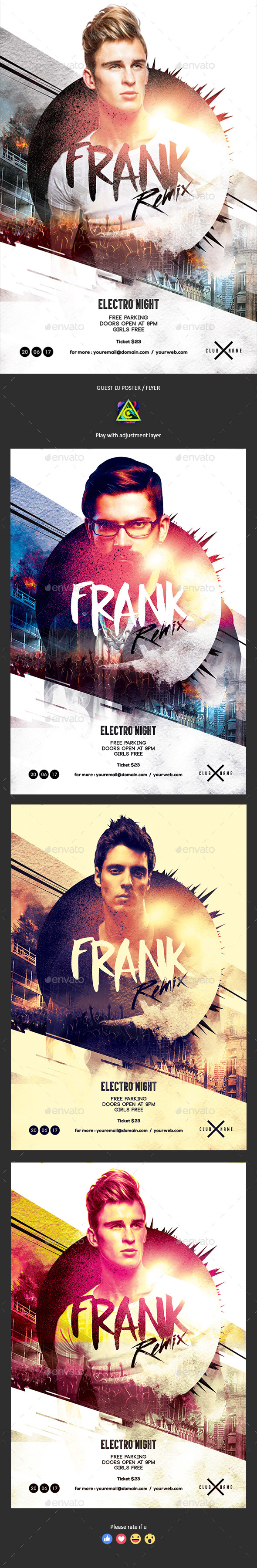 GraphicRiver Guest DJ Poster Flyer 20682511