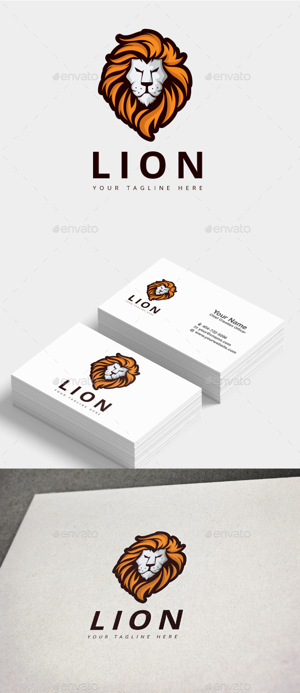 Lion Logo - Animals Logo Templates