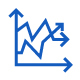 Data Analytics and Data Storage line icons
