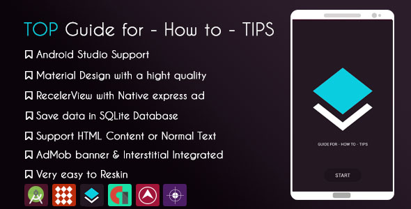 CodeCanyon TOP GUIDE FOR BOOKS HOW TO TIPS & Native Express ad 20682761