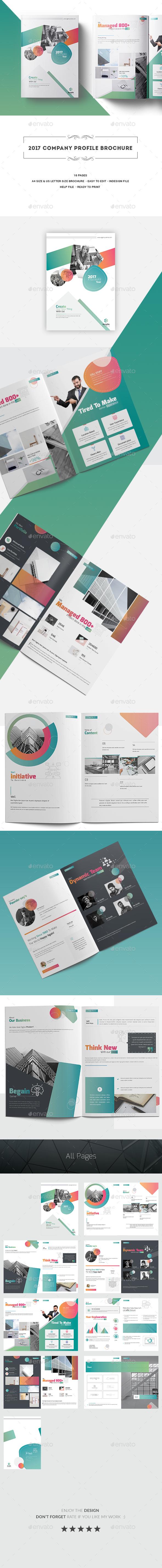 2017 Company Profile Brochure - Corporate Brochures