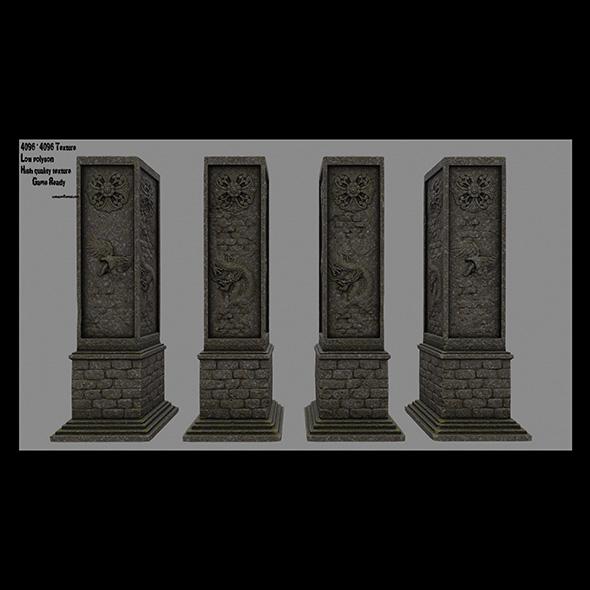 3DOcean pillar 15 20682796