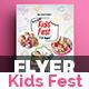 Kids Festival Flyer - GraphicRiver Item for Sale