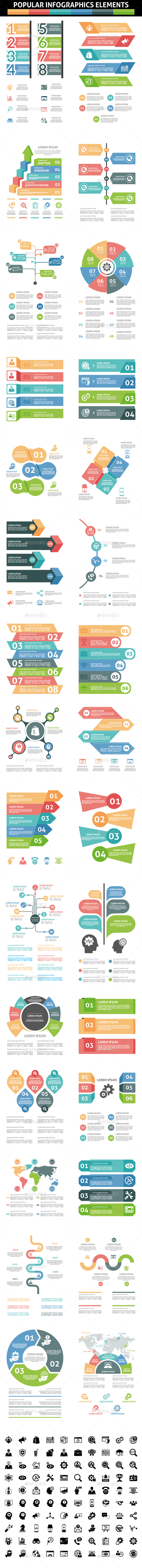 GraphicRiver Popular Infographic Elements 20682815