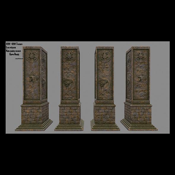 3DOcean pillar 16 20682866