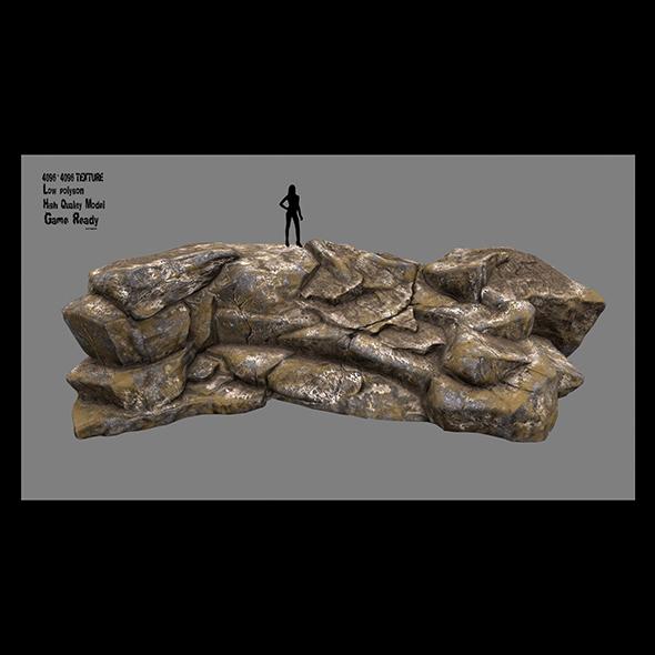rock 9 - 3DOcean Item for Sale