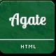 Agate - Multipurpose Responsive Template