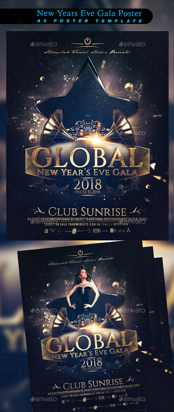 GraphicRiver New Years Eve Gala Poster 20683305