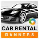 Car Rental Banners